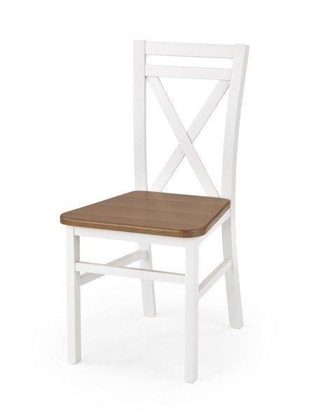 Krzesło Bologna Biały Olcha