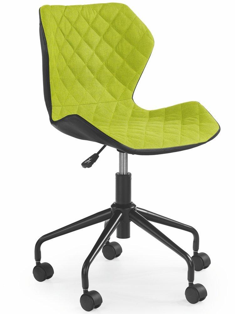 Krzesło Dziecięce Neo Czarny - Zielony