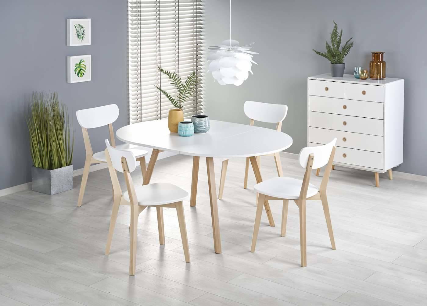 Stół Roben koloru białego