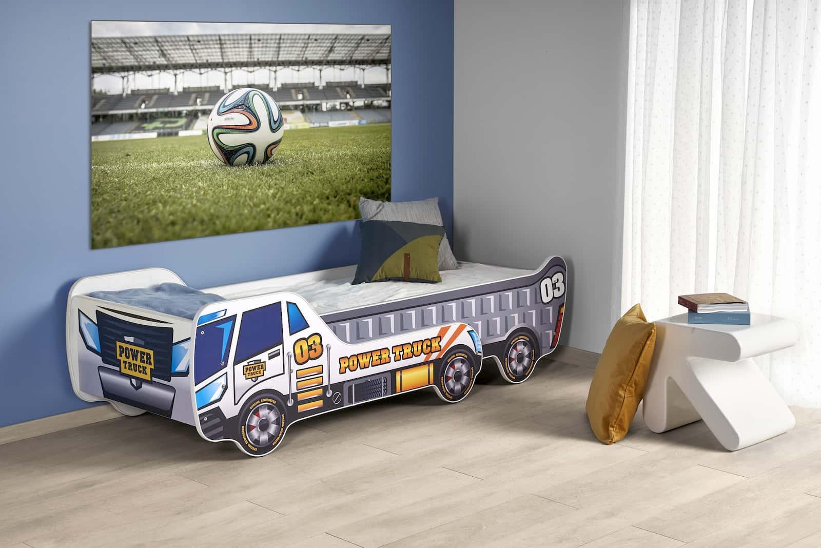 łóżko auto dla dzieci