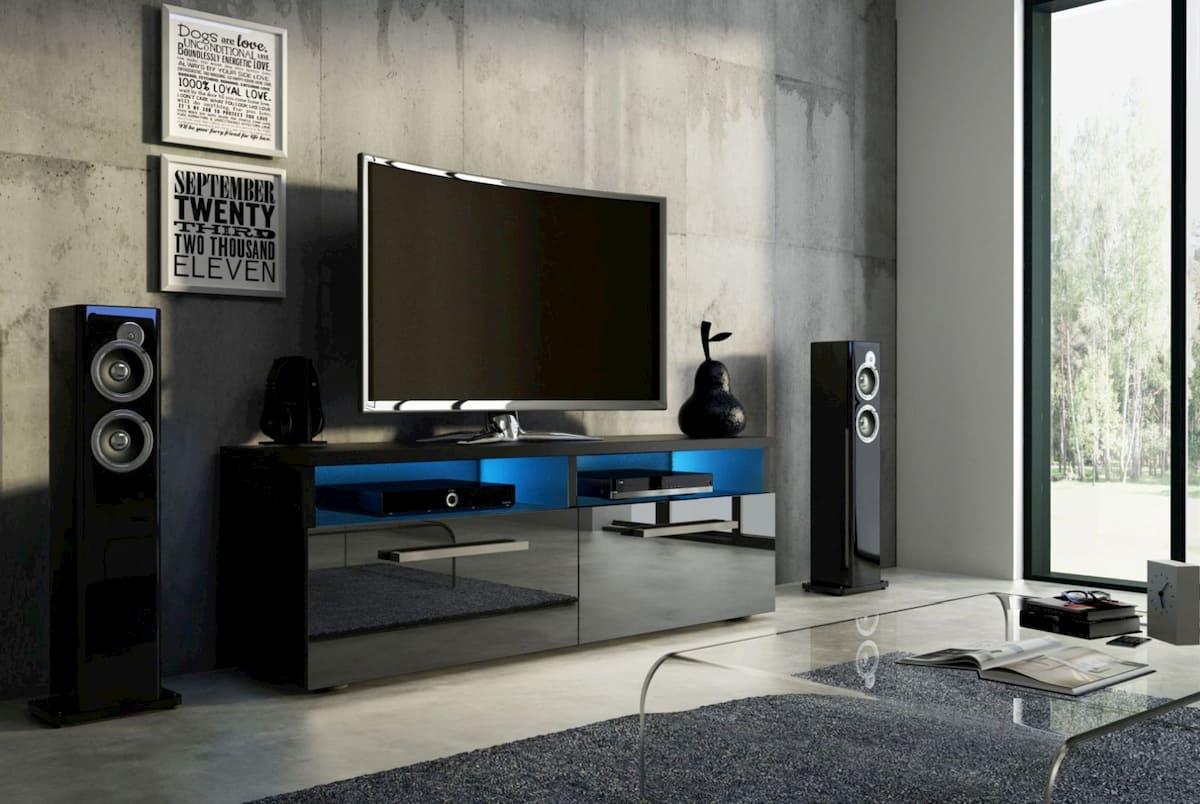 Szafka pod telewizor z oświetleniem