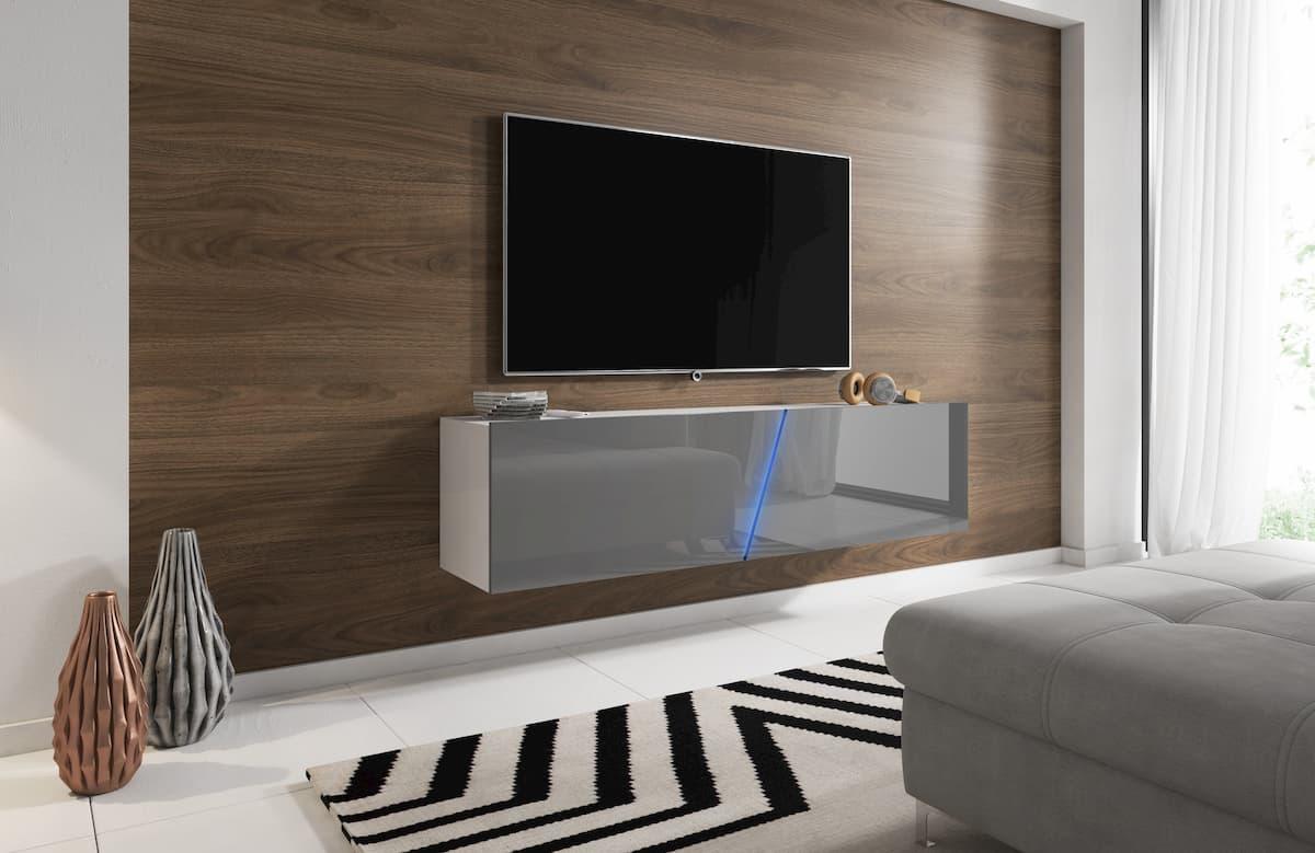 nowoczesna szafka pod duży telewizor
