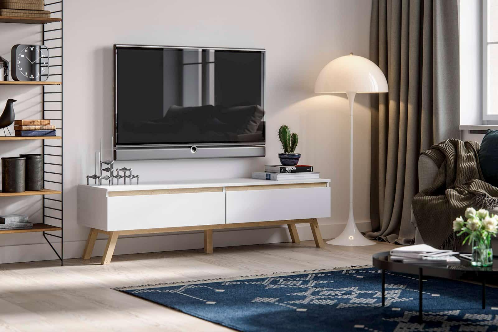 Wizualizacja komoda Rena szafka RTV pod telewizor