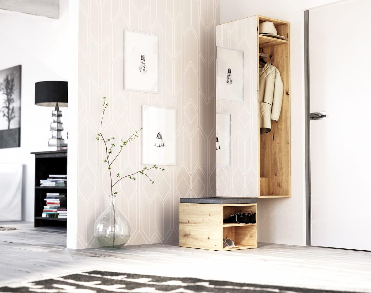 AElőszobabútor NAOMI artisan tölgy