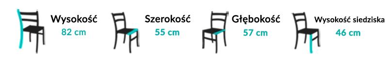 Wymiary Krzesła Plants