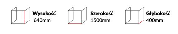 Wymiary Szafki RTV Vero